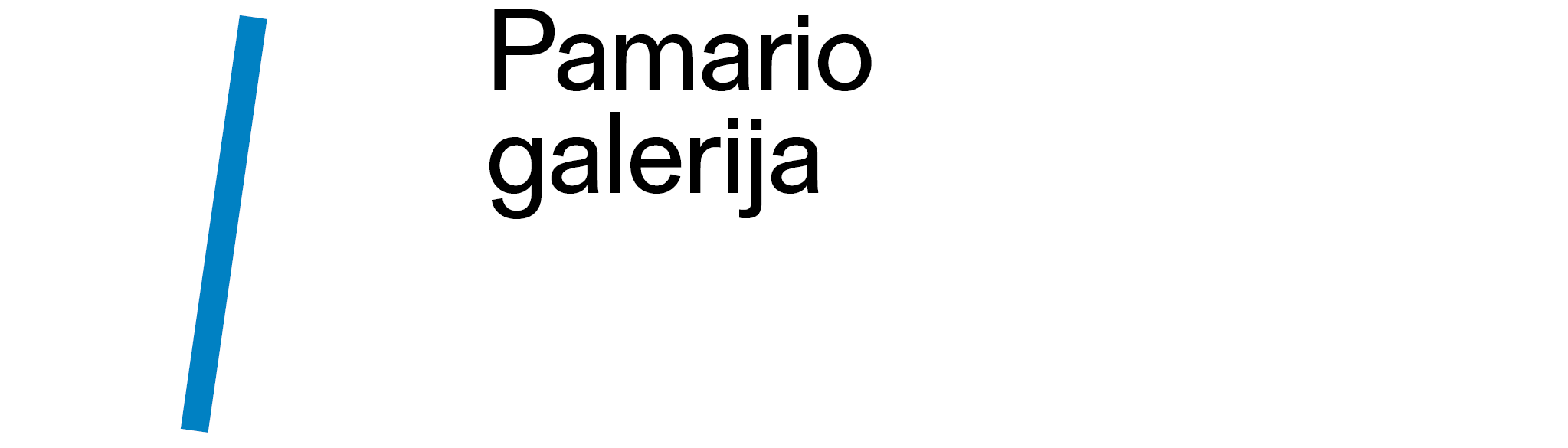Pamario galerija