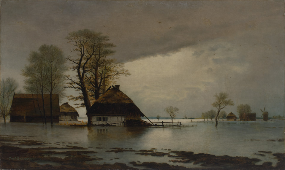 Karlas Šeras. Potvynis Rytprūsiuose. T-2663