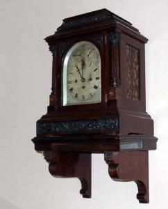 LDM Laikrodžių muziejaus ekspozicijos fragmentas.