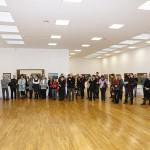 Parodas atidaro galerijos vedėja Kristina Jokubavičienė