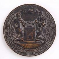 Medalis, skirtas auksinių vest...