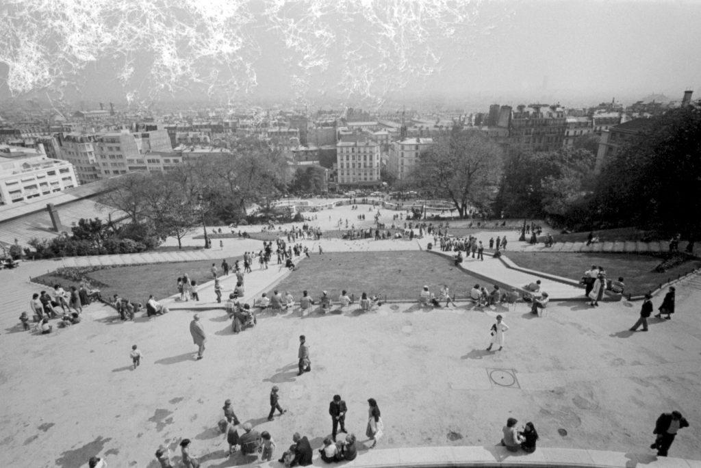 Juozas Budraitis. Vaizdas nuo Monmartro kalvos. Paryžius, 1979