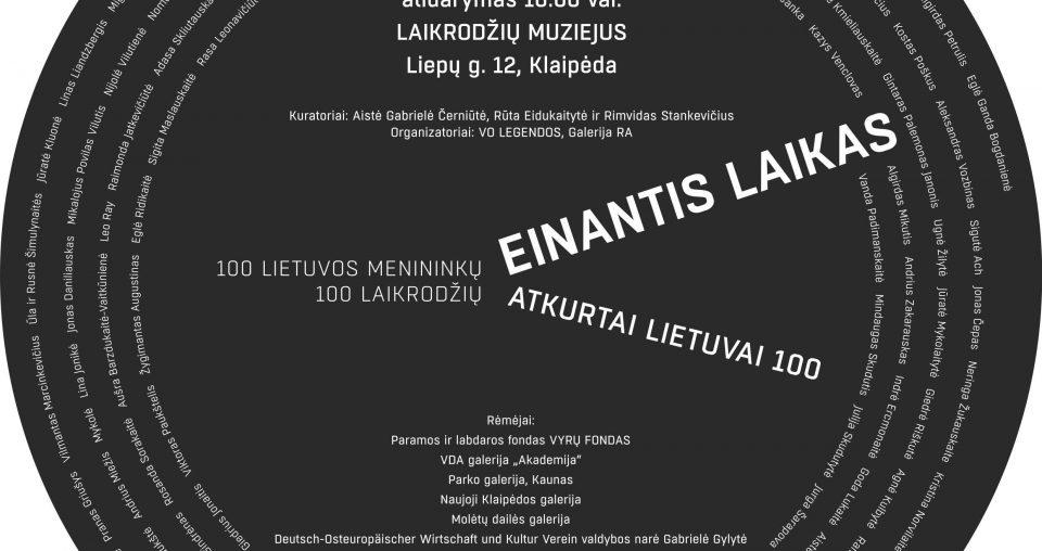 """<span class=""""slider-name""""><a href=""""https://www.ldm.lt/paroda-einantis-laikas-100-lietuvos-menininku-100-laikrodziu/"""">Paroda """"Einantis Laikas"""". 100 Lietuvos menininkų/100 laikrodžių</a></span><span class=""""sldier-meta"""">2018 m. spalio 17–gruodžio 7 d.</span>"""