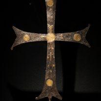 Procesijų kryžius. XI a. Kijev...